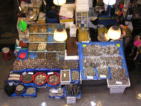 Noryangjin Fish Market, Seoul, South Korea