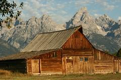 Moulton Barn (Ralph Combs) Tags: barn landscape landscapes canon20d canoneos20d wyoming tetonnationalpark moultonbarn mormanranch