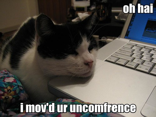 oh hai. i mov'd ur uncomference.
