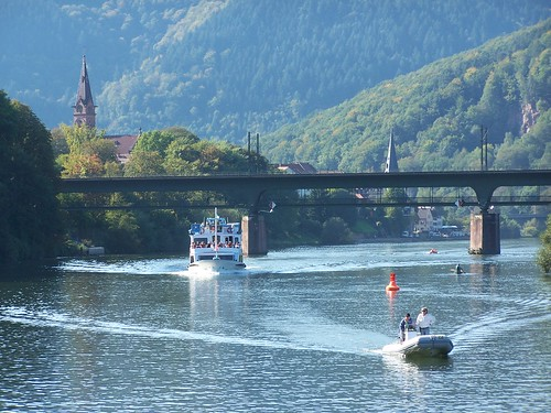 Neckar River scene