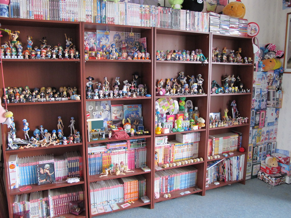 Female Otaku Room