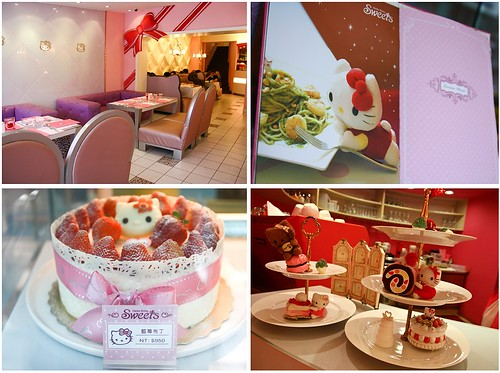 Hello kitty sweets cafe, Taipei 1