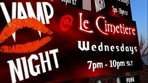 vamp night at le cimetiere