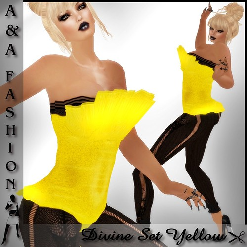 A&A Fashion Divine Set Yellow