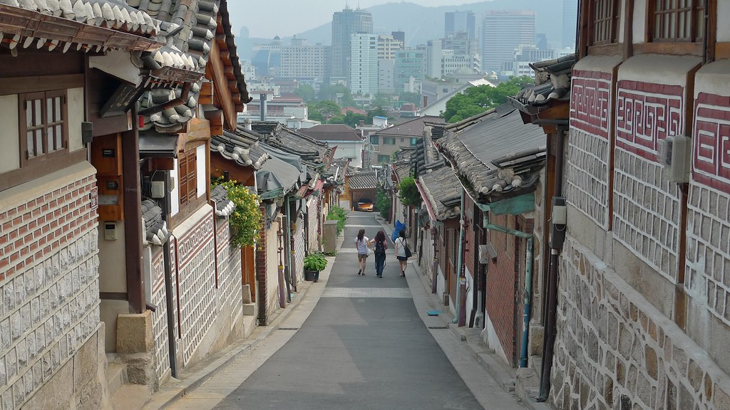 Samcheong-dong Hanoks