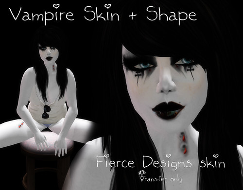 Vampire skin ad