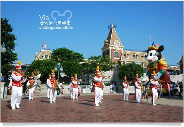 【香港迪士尼】跟著via玩香港(3)~迪士尼卡通人物歡樂巡遊7