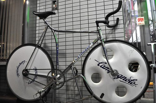 Francesco Moser - Pursuit bike