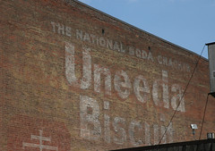 Uneeda Biscuit Ghost Sign: Dubuque, IA (RickM2007) Tags: ghost biscuit uneedabiscuit paintedsign oldsignage uneeda oldbrickbuilding sodacracker oldghostsign downtowndubuque ghostsignindubuque