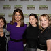Sandy Norris, Norah O'Donnell, Katherine Bates, and Kathy Danha