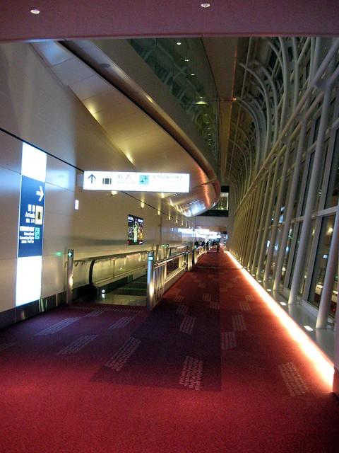到着, 羽田空港