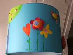 Candeeiro de tecto (Susana Tavares) Tags: azul arte infantil criana decorao bbs quartos aplicaes abajours pintadomo candeeirosdetecto ateliersusanatavares