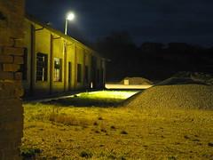 piazzale illuminato