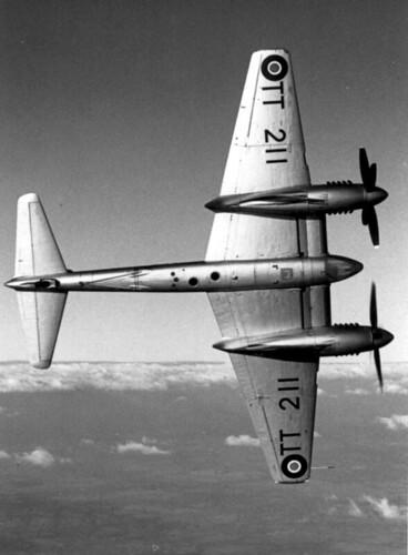 De Havilland Hornet F.R. Mk 20 TT211