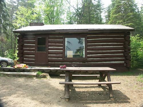 Rain Lake Cabin at Algonquin Provicial Park, Ontario, CA