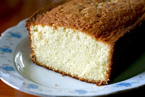 Pound Cake - innards