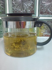 jug of chinese tea