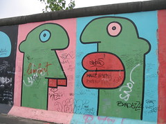 More Berlin Wall Art. (AnnecyEmily) Tags: street berlin art wall germany heidi graffiti july 2007