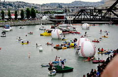 2007 MLB Baseball All-Star Game - McCovey Cove (Al_HikesAZ) Tags: sanfrancisco 15fav game major baseball cove allstar att ballpark league 2007 mccovey mlb mccoveycove  majorleaguebaseball sf2007 alhikesaz