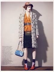Total Look (Ze Cali Fairy) Tags: fashion magazine vogue editorial patrickdemarchelier sashapivovarova frenchvogue vogueparis marieamliesauv aarondemey