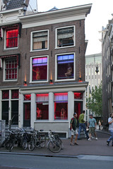 The Infamous Red Light District (Chawnce!) Tags: city travel windows girls vacation amsterdam sex naked relax fun for women europe underwear display sale watching bikini prostitutes hookers