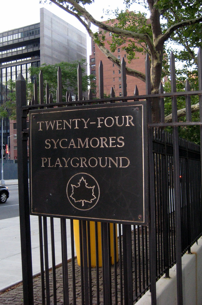 NYC - 24 Sycamores Playground