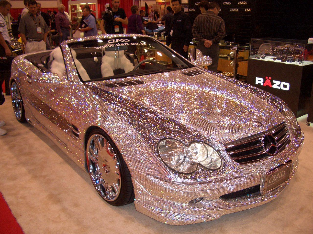 SEMA SHOW Mercedes bling bling