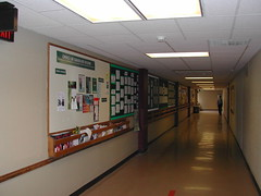 Hall, Union to Theater Hall 7-20-07 (UWGB_SS_Remodel) Tags: hallways uwgb