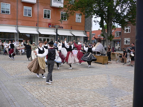 Dancers from the Basque country