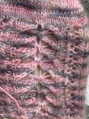 WIP - Shiny Socks (detail)