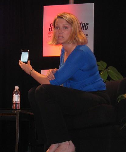 Marissa Mayer and the iPhone - SES San Jose 2007