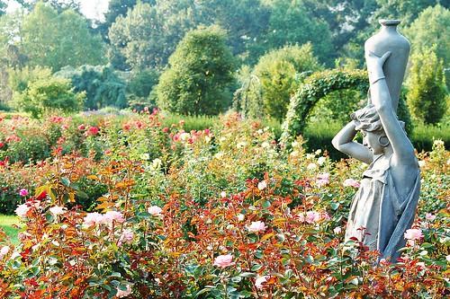 Grecian garden.