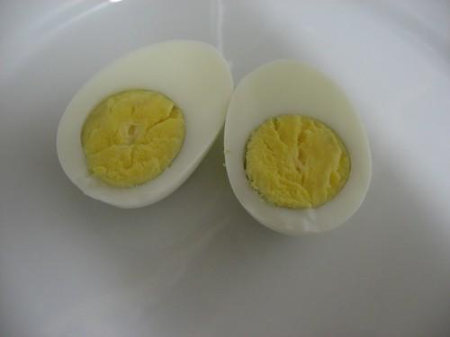 hardkokt egg