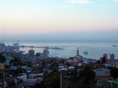 View of Valparaiso from the top of La Sebastiana 2