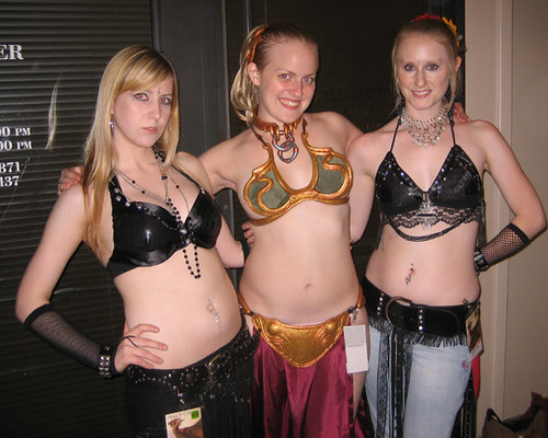 My two favorite belly dancers!