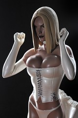 The White Queen (PowerPee) Tags: philippines statues xmen sideshowcollectibles emmafrost powerpee