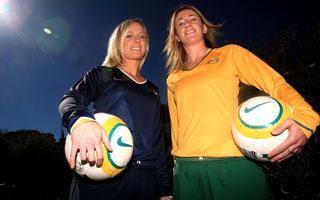 jogadoras da seleção de futebol australiano, as matildas