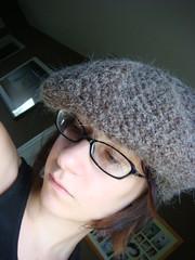 moss stitch beret 004