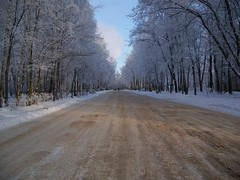 Ice & Snow Road - Uglich,   Russia in Winter (storqmplus) Tags: winter snow cold russia
