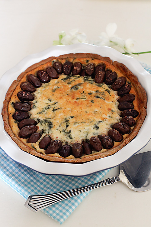 Cheese & Spinach Pie