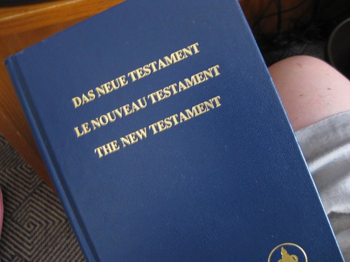 Trilingual Bible!