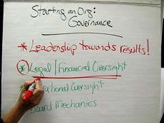 Legal and Financial Oversight: Flip Chart