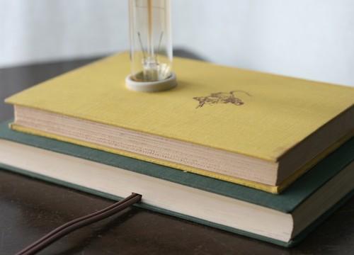 Hardback Book Lamp - <span class=