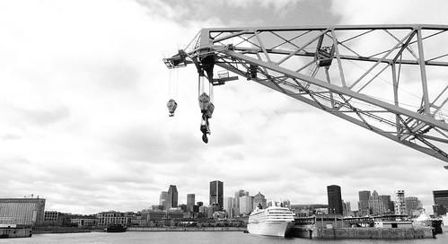 crane, vieux port