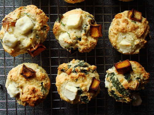 Butternut Squash And Feta Muffins