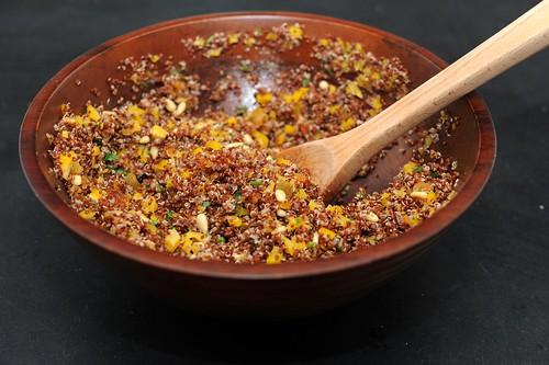 quinoa with dried fruit
