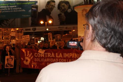 Concentración contra la impunidad del Franquismo (04/11/2010)