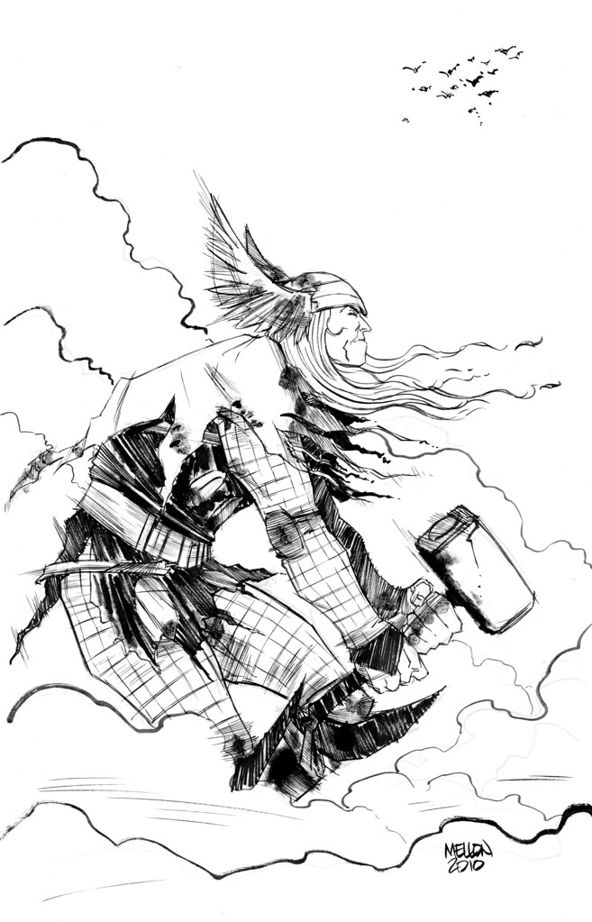 Thor by Kevin Mellon