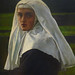 Millais's The Vale of Rest with detail of nun