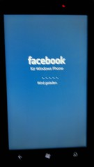 Windows Phone 7 Facebook